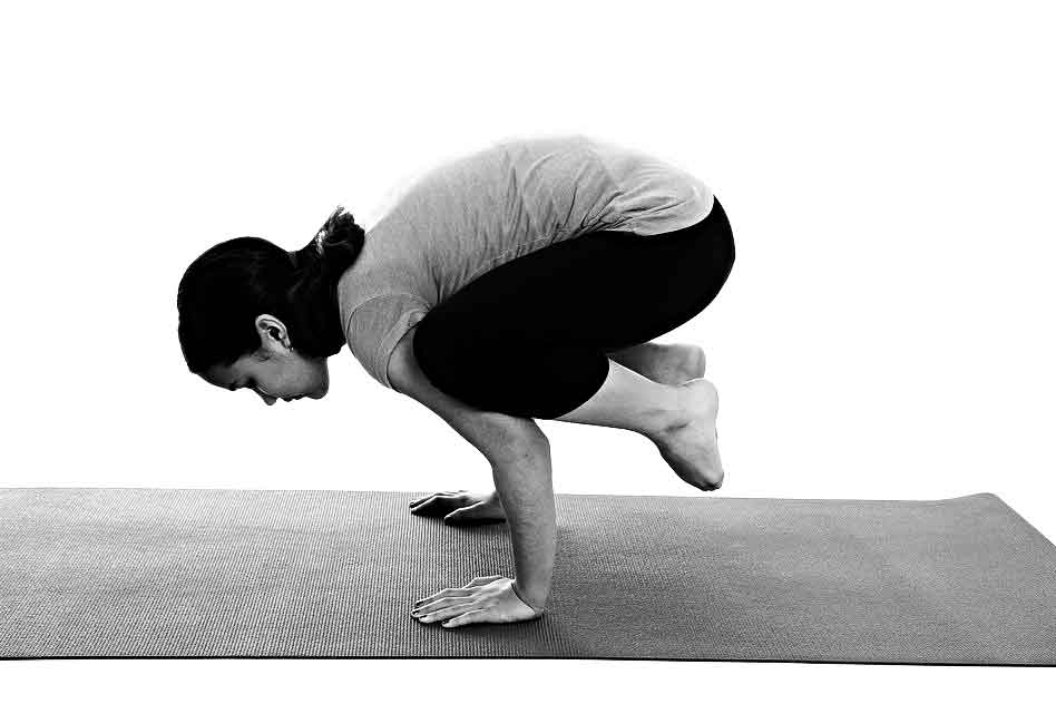 Crow Pose Bakasana Yoga Simple