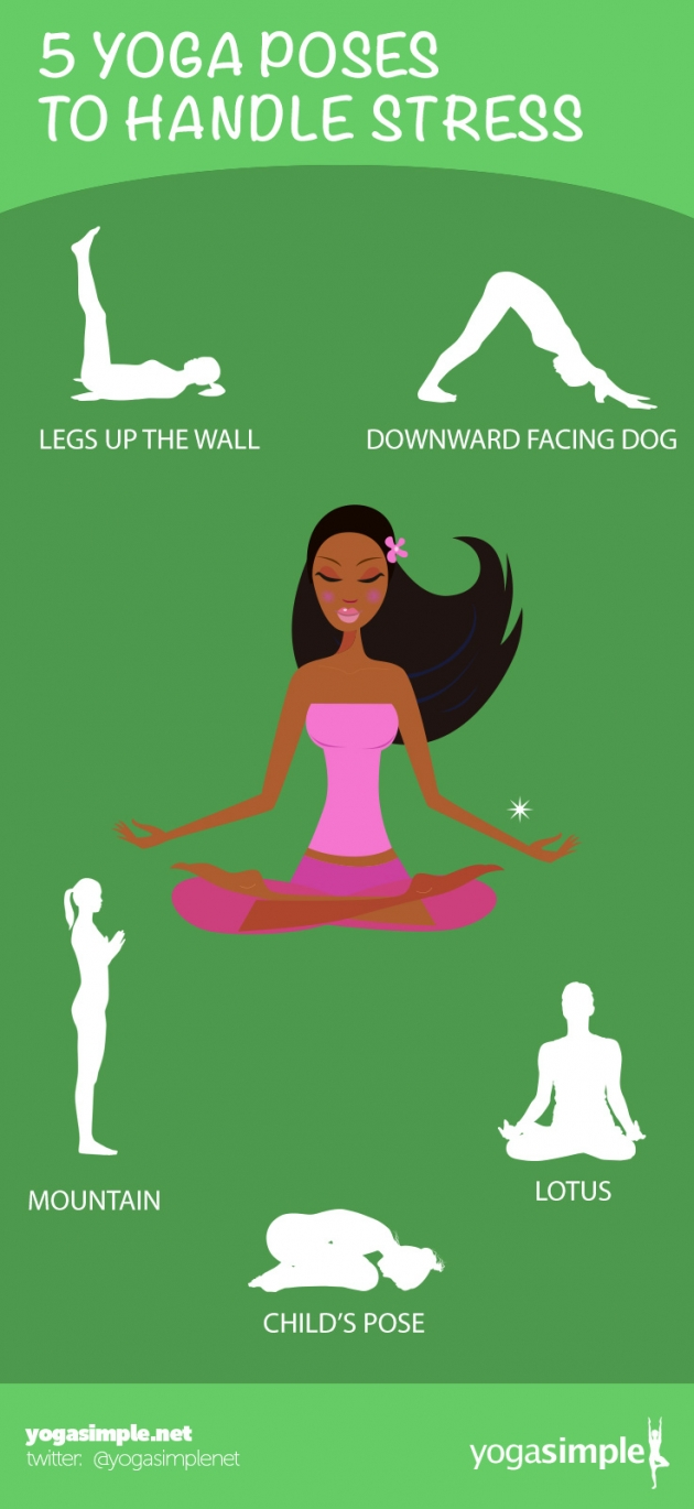 5 Simple Yoga Poses for Stress