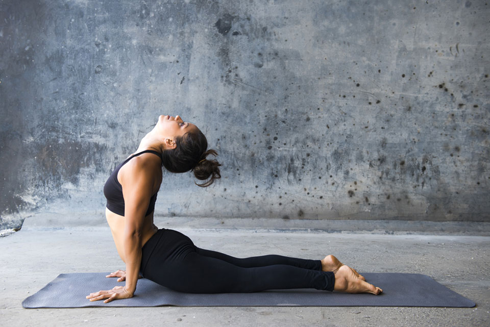 Cobra Pose - One of the easier yoga poses for beginners