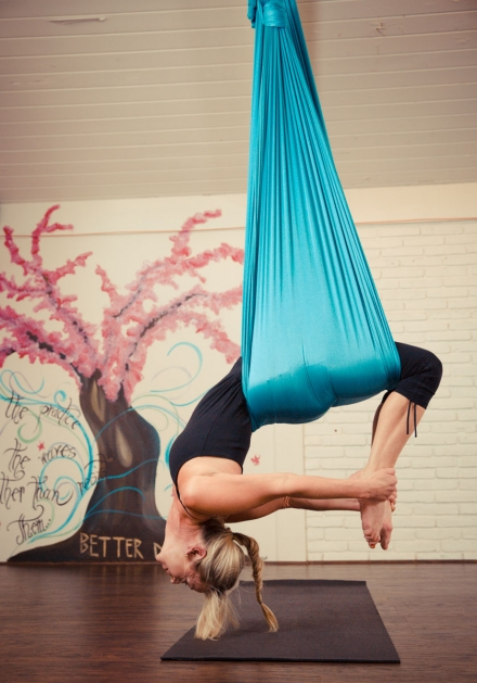 Finding Lightness in Aerial Silks