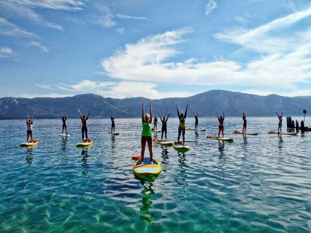 I Tried It: Stand Up Paddleboard (SUP) Yoga