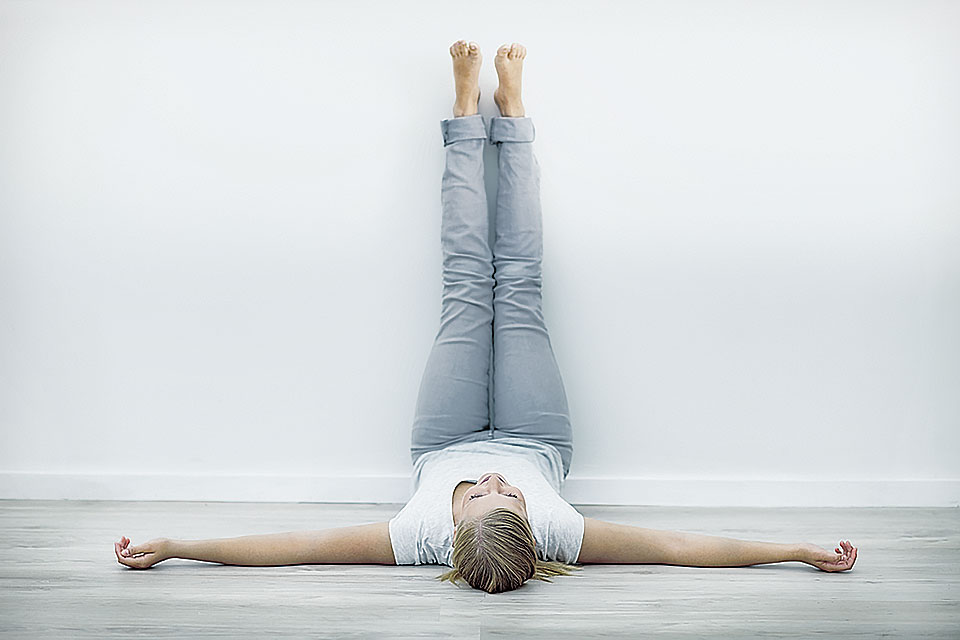 Legs Up the Wall Pose
